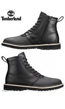Timberland Britton Hill Side-Zip Men's Boots Sz US 11.5/ EUR 45.5 Black A1JIO