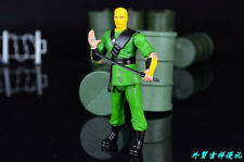 "3.75"" Gi Joe NINJA APPRENTICE with Weapon  Rare Action Figure"