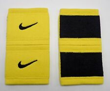 Nike Dri-Fit Stealth Wristbands Tennis Varsity Maize/Black Mens Women's