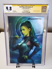 Guardians Of The Galaxy #1 Virgin Variant CGC 9.8 SS Signed by Shannon Maer