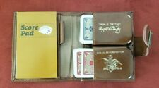 Anheuser Busch 1973 Sales Convention Playing Cards Book