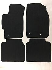 Custom Carpet Car Floor Mats For Mazda 6 2009/2012 Color Black OEM  100% Nylon