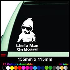 Little Man On Board Baby Child Window Bumper Car Sign Decal Sticker