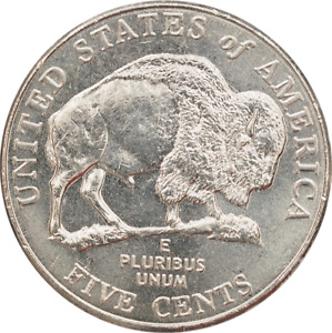 2005 $2 Roll of 40 USA Nickels Bison D Mint