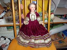 Alte franz. Celluloid-Puppe-Petit Collin-groß-Kaufladen-Puppenstube-doll-poupee