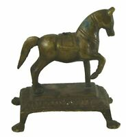 Running Horse Figure Antique Vintage Handmade Brass Statue Figurine Home Decor