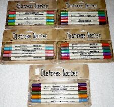Tim Holtz Ranger DISTRESS MARKERS Lot of 5 Sets