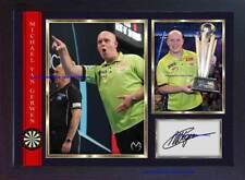 Michael van Gerwen autograph signed photo print Legend Darts Framed