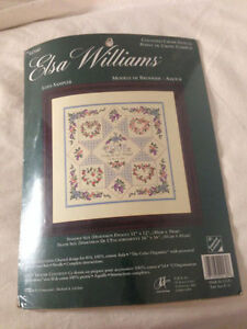 JCA Elsa Williams Counted Cross Stitch kit - Love Sampler 02160