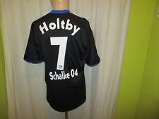 """FC Schalke 04 Adidas Ausweich Trikot 2009/10 """"GAZPROM"""" + Nr.7 Holtby Gr.M- L"""