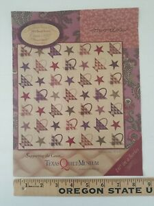 "CIRCA 1892 TEXAS QUILT MUSEUM Pieced Quilt Pattern for MODA Fabrics 70"" x 70"""