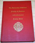 The University Of Sydney Faculty Of Medicine 1956 Graduates Jubilee Book