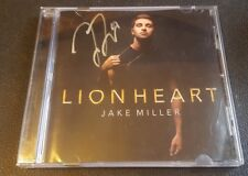 RARE! Lion Heart by JAKE MILLER Signed Autographed CD