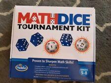 Math Dice Tournament Kit - Thinkfun Complete -New - Sharpen Math Skills