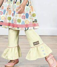 Matilda Jane Adventure Begins Library Book Big Ruffles pants Girls size 10 New