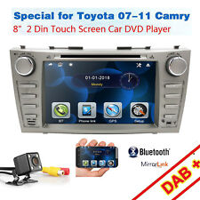 """8""""Toyota Camry For 2007-2011 GPS Navigation Car Radio Stereo DVD Player+Back Cam"""