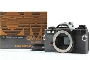 [NEAR MINT+++ BOX] Olympus OM-4TI 35mm SLR Film Camera Black Body From JAPAN