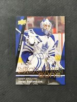 2009-10 UPPER DECK JONAS GUSTAVSSON ROOKIE YOUNG GUNS EXCLUSIVES #ed 24/100