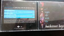 "BACKSTREET BOYS "" SELECTIONS FROM A NIGHT OUT WITH ""  6 TRACK SAMPLER CD"