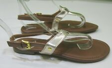new ladies Women LIGHT GOLD /BROWN Summer  Sexy Sandal  shoes Size 6.5
