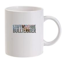 Staffordshire Bullterrier personnalisé Tasse CHIENS noël drôle hommes cadeau