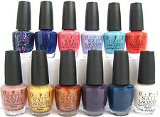 12 OPI NAIL POLISH SET & FREE NAIL ENVY MATTE! CHOOSE YOUR ASSORTED COLORS *NEW