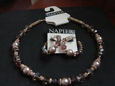 Napier  Necklace and Earring Set