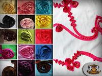 "Taffeta Ribbon Rosette Fabrics 58"" Wide Sold by the yard"