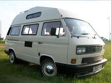 VW T25 CAMPER VAN FRONT DOOR GLASS AND  DOOR VENTS ** SUPPLY ONLY ***