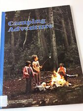 1976 National Geography Society Books for Young Explorers Camping Adventure book