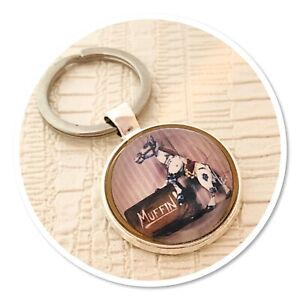 Muffin the mule cute keyring key ring