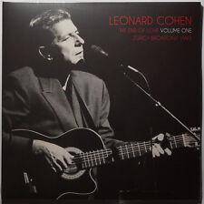 Leonard Cohen - End of Love Vol. 1 Zurich Broadcast 1993 2LP NEU/SEALED vinyl