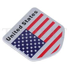 3D Car Auto Truck Decal American USA US Flag Decor Emblem Badge Logo Sticker