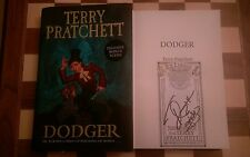 Dodger DUAL SIGNED Terry Pratchett Paul Kidby HB 2012 1st edition 1st impression