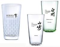 Suntory Yamazaki Hibiki Hakushu whisky highball tumbler mug cup glasses japan