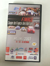 K7 VIDEO FINALE DES RALLYE MAZAMET 2002 ROUILLARD RALLY NO DVD