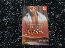 MILLS & BOON THE GOLD COLLECTION BY SUSAN STEPHENS  3 IN 1 LIKE NEW 2016