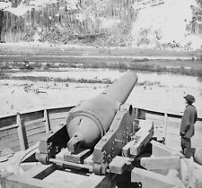 Confederate Gun Emplacement above Dutch Gap Canal New 8x10 US Civil War Photo