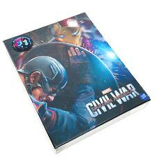 Captain America: Civil War Lenticular Slip B Blu-Ray Steelbook WeEt Exclusive 01