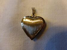Medaillon Herz Anhänger Gold 333 8 Karat wunderschön