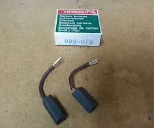 999076 Carbon Brush (auto stop Type) 1 pair Hitachi