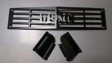 """Bumper Grille Insert 2015-2018 Silverado 2500 3500 HD """"USMC"""" Edition"""