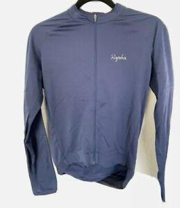 Rapha Men's Core Jersey Long Sleeve. Navy. Size Medium Great Condition