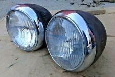 1939 1940 Chevy Truck HEADLIGHTS Original GM pair Sealed Beam