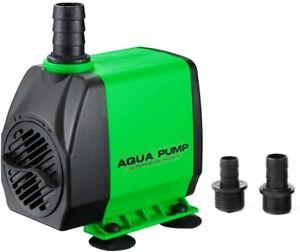 800GPH Submersible Aquarium Pump 3000 L/H for Fish Tank Pond Fountain Hydroponic