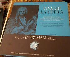 VIVALDI La Cetra Op. 9 Makanowitzky Boskovsky Golschmann Vanguard SRV-159 Violin