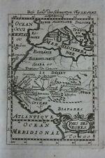 More details for original antique map, west africa, gambia, senegal, guinea, mallet, c.1719