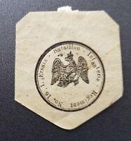 Siegelmarke Vignette Ersatz Bataillon Infanterie Regiment No.16.1. (7718-1)
