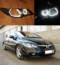 4x Excellent CCFL 7000K Angel Eyes kit Halo Rings For Honda Civic FD 2006 - 2010