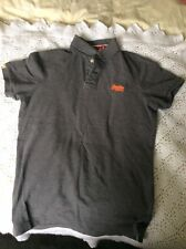 SUPERDRY POLO GRIS PETITE TAILLE L